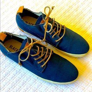 Blackstone FM07 Navy Blue Canvas Sneakers